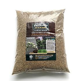 TÚI 5 dm3 - ĐÁ VERMICULITE - Giá thể ươm mầm, Aquaponics, trồng rau mầm