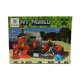 Bộ Xếp Hình - My World - 33275 - LK52 - Mẫu 2