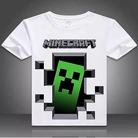 Áo thun Minecraft hình Creeper