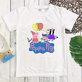 Áo thun Heo Peppa bé gái