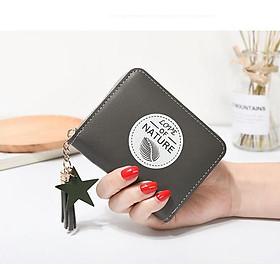 Ví bóp nữ cầm tay đựng tiền nhỏ mini siêu đẹp nature VN31