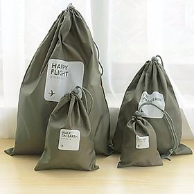 Hot 4 pcs / lot Waterproof Travel Storage Bags Travel Shoe Makeup Organizer Laundry Bag Underwear Cosmetics XS S M L