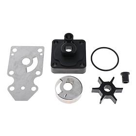 Water Pump Repair Kit Replacement fits Yamaha 63V-W0078-01 F15 15hp 4-Stroke
