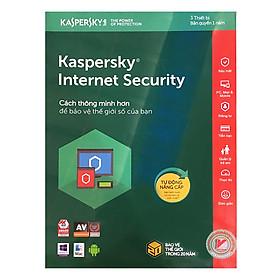 Kaspersky Internet Security Cho 3 Máy Tính - KIS3U - Hàng Chính Hãng