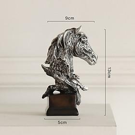 Tượng Trang trí decor Tượng Mã kích thước lớn tượng trưng sự mạnh khỏe tiến xa như cách ngựa chạy phi mã , chi tiết cao