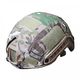 Hình đại diện sản phẩm FAST Helmet Shade Camouflage False Pretend Hunting Outdoor Jungle Retractable