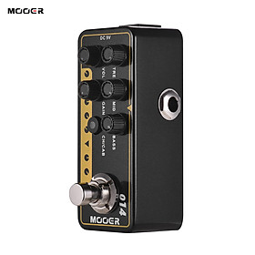 Mooer MICRO PREAMP Series 014 Taxidea Taxus Modern-day Classic Digital Preamp Preamplifier Guitar Effect Pedal Dual