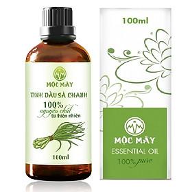 Tinh dầu Sả chanh 100ml Mộc Mây - tinh dầu nguyên chất 100% từ thiên nhiên - chất lượng và mùi hương vượt trội