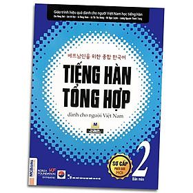 Sách - Tiếng Hàn Tổng Hợp Dành Cho Người Việt Nam - Sơ Cấp 2 Phiên Bản Mới (4 Màu)
