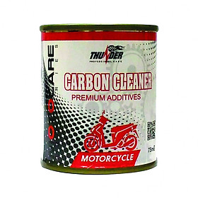 Phụ gia xăng sạch buồng đốt thunder carbon cleaner