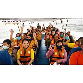 [ Nha Trang ] Tour Đảo Cano Hòn Mun - Hòn Tằm