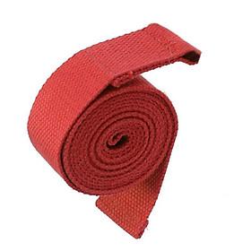 Đai Tập Yoga Cho Phụ Nữ (3.8 X 180 Cm) - Đỏ-0