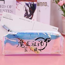 Hộp bút Ma đạo tổ sư bóp viết bóp đựng bút đồ dùng học tập thước kẻ dễ thương tặng ảnh thiết kế vcone
