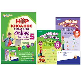 Hộp Khóa Học Tiếng Anh Online Tiểu Học Lớp 5 (+ Kèm 2 Sách)