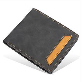 Ví da nam cầm tay dáng ngang chất da mềm mịn không bạc màu, chống nước, dáng mỏng nhỏ gọn, nhiều ngăn đựng thẻ tiện lợi
