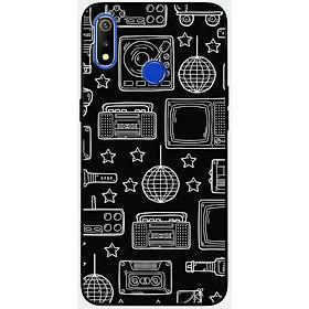 Ốp lưng dành cho Realme 3 Pro mẫu Đồ điện tử