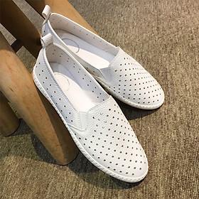 Giày Slip On nữ Thái Lan dáng thon ôm chân, mềm mại êm ái D590610