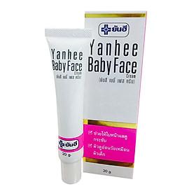 Kem giúp dưỡng da trắng, mềm mịn Yanhee Baby Face Cream (20g)