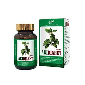 Viên tiểu đường Akidiabet MPH - Ngăn ngừa biến chứng bệnh tiểu đường, hạ đường huyết, giảm cholesterol máu, mỡ máu cao - Lọ 60 viên