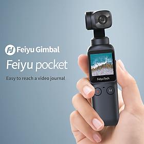 Gimbal Feiyu Pocket 6-axis 120° Ultra-Wide Angle Lens 4K/60fps - Hàng Nhập khẩu Chính Hãng