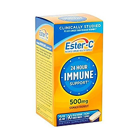 Vitamin C by Ester-C, 24 Hour Immune Support, 500mg Vitamin C, 90 Coated Tablets