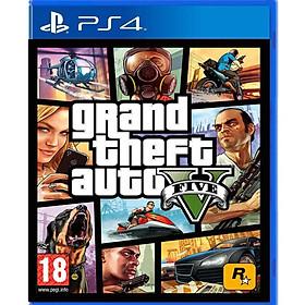 Đĩa Game PS4: Grand Theft Auto V Premium Edition (GTA 5) hệ asia -Hàng nhập khẩu