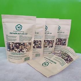 Combo 05 túi: Trà Mầm Ngũ Cốc X5 (200gr) Giảm táo bón, Chống trầm cảm, lợi sữa, thải độc cho mẹ sau sinh