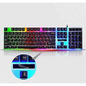 Bàn phím G21 LED giả cơ có led đổi màu