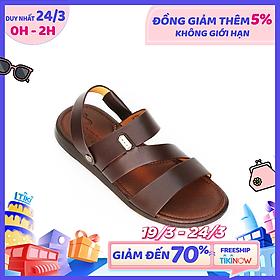 Giày Sandal Nam thủ công da bò cao cấp TOMOYO TMS09402