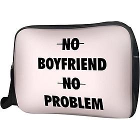 Túi Đeo Chéo Hộp Unisex No Boyfriend No No Problem - TCTE170