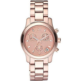Michael Kors Women's MK5430 Runway Rose Gold Tone Watch