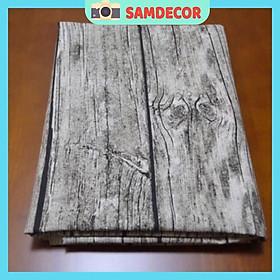 Vải bố vân gỗ chụp ảnh 50x50cm