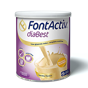 Sữa tiểu đường - FontActiv® diaBest-400g (Thực phẩm chức năng dành cho người ăn kiêng, tiểu đường)