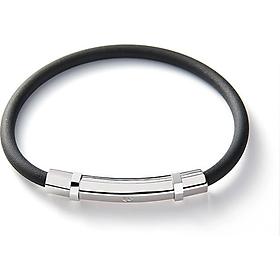 Vòng đeo tay có nam châm vĩnh cửu Colantotte - Arie màu bạc