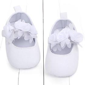 Giày Tập Đi Cho Bé Gái Đính Hoa