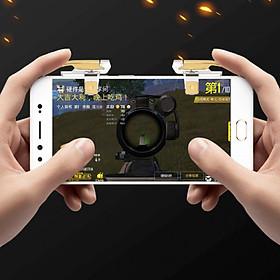 Bộ 2 Nút Chơi Game PUBG Dạng Kẹp Dòng 5.56 Hỗ Trợ Chơi Các Game Mobile Thịnh Hành Trên Điện Thoại (Màu Ngẫu Nhiên)