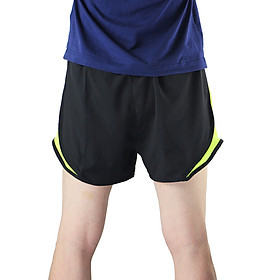 Arsuxeo Men's 2 in 1 Running Shorts Quick Dry Marathon Training Fitness Running Cycling Sports Shorts Trunks-4