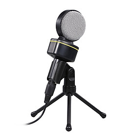 Computer Conference Microphone Omnidirectional Capacitive Desktop Microphone for Live Streaming Meeting Karaoke Voice