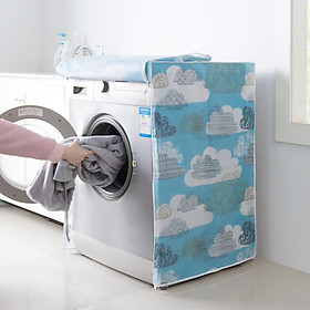 Áo trùm máy giặt chống thấm nước, chống ánh nắng 6kg - 10kg