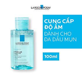 Nước Tẩy Trang Làm Sạch Sâu & Kiểm Soát Bã Nhờn Cho Da Dầu Nhạy Cảm La Roche-Posay Micellar Water Ultra Oily Skin 100ml