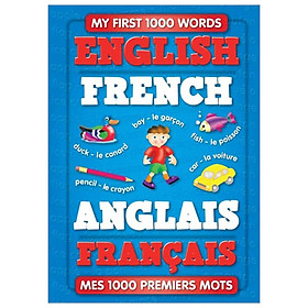 My First 1000 Words - English / French - (Padded Cover)