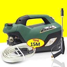 Máy rửa xe gia đình, công suất mạnh 2800W có thể chỉnh áp, rữa xe dễ dàng sử dụng, ống bơm nước 15m, vòi bơm áp lực cao C0005S7