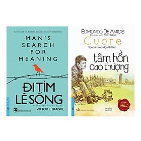 Combo Tâm Hồn Cao Thượng + Đi Tìm Lẽ Sống (2 Cuốn)