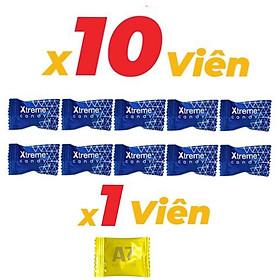 combo 10 viên Kẹo Sâm Xtreme (Mỹ) kèm 1 viên Kẹo A7  hàng chuẩn