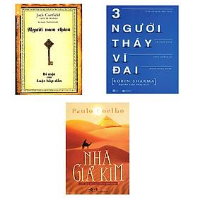 Combo Sách: Người Nam Châm, Ba Người Thầy Vĩ Đại Và Nhà Giả Kim Tặng 1 Cuốn Truyện Song Ngữ Bìa Mềm Ngẫu Nhiên