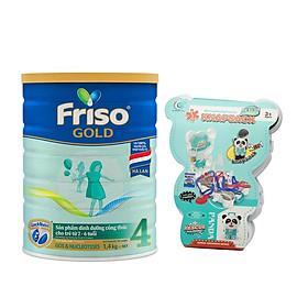 Sữa Bột Friso Gold 4 1400g Dành Cho Trẻ Từ 2 - 6 Tuổi + Tặng Bộ Đồ Chơi Bác Sĩ (Màu Ngẫu Nhiên)