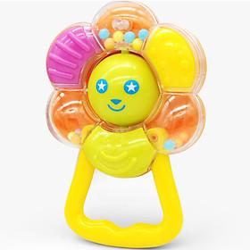 Đồ Chơi Lúc Lắc Cho Trẻ - Chuông Vòng Tròn Hình Hoa Happy Baby