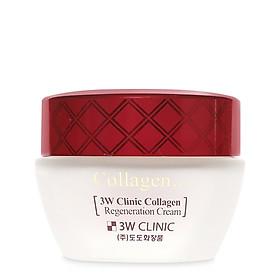 Kem dưỡng trắng da chống lão hóa Hàn Quốc cao cấp 3W Clinic Collagen Regeneration Cream (60ml) – Hàng Chính Hãng-3