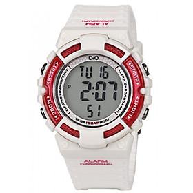 Đồng hồ điện tử nữ Q&Q Citizen M138J002Y dây nhựa thương hiệu Nhật Bản