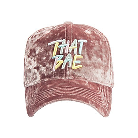 Nón Ballcap PREMI3R Hypebae Thatbae FL436 - Hồng